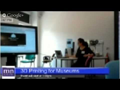 Museums and 3D Printing Session