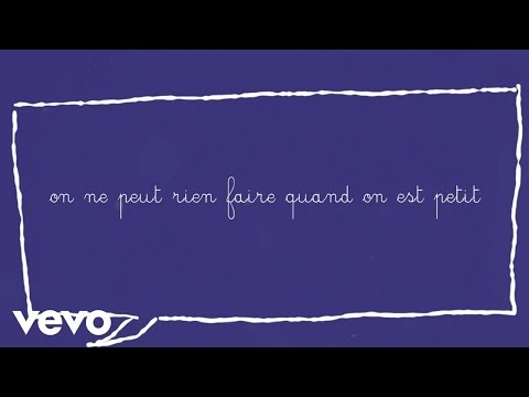 Aldebert - On ne peut rien faire quand on est petit (Video lyrics)