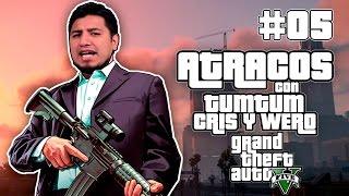 GTA V Atracos con el crew Pt 5 (Cholos Exitosos)