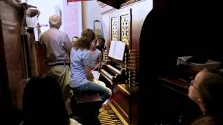 Masterclass William Porter during the Smarano Organ Academy 2014