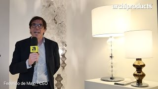 Euroluce 2017 | ZAFFERANO - Federico de Majo ci racconta Bespoke Glass Lighting