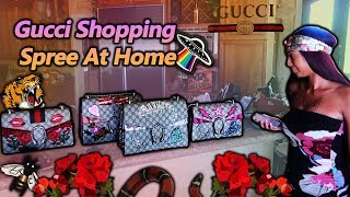 Gucci Shopping Spree At Home