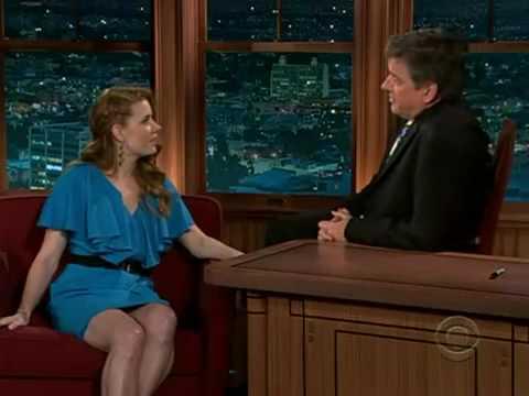 Amy Adams on Craig Ferguson 6th March 2009. FULL!