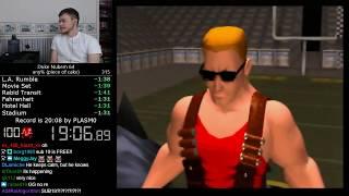 (19:06) Duke Nukem 64 - any% speedrun *World Record*