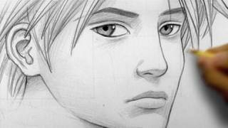 How Draw Realistic Face Line Line