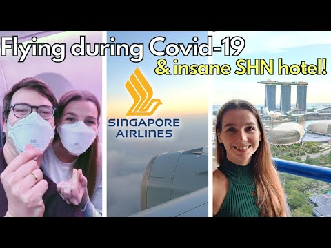 ✈️FLYING FROM DUBAI TO SINGAPORE DURING THE PANDEMIC + First Impression of SHN Quarantine Hotel Room