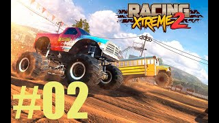 GAMEPLAY RACING XTREME 2 CORRIDAS CLASSIFICATÓRIAS TRUCK MONSTER ANDROID #02