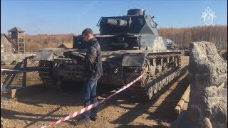Немецкий танк убил русского каскадёра.