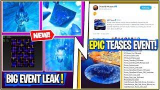 *NEW* Fortnite Update! MAJOR EVENT LEAK, Cube Teasers & Fortnitemares Returning!