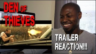 Den of Thieves Official Trailer (2017)   50 Cent, Gerard Butler, Reaction