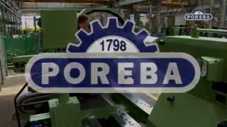 POREBA TCF 250 CNC Horizontal Lathe