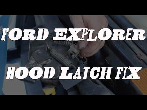 Explorer / Mountaineer Hood Latch Repair & Fix For No Cost