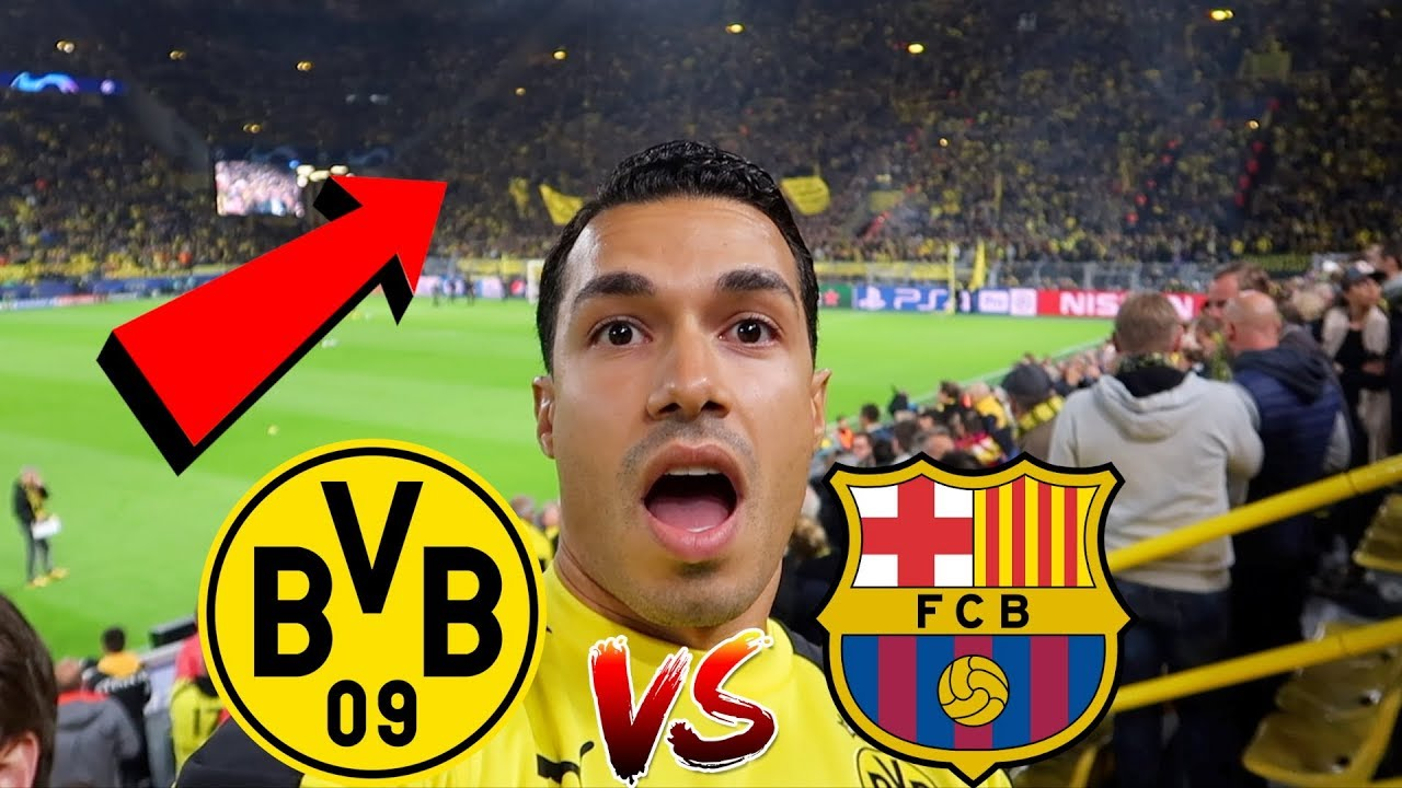 BVB vs BARCELONA ⚽️STADION VLOG