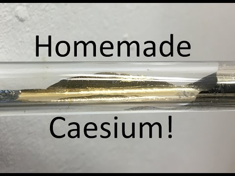 Isolating Cesium Metal