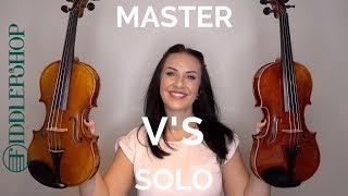 Comparing the Fiddler #5 MASTER and #6 SOLOIST violins