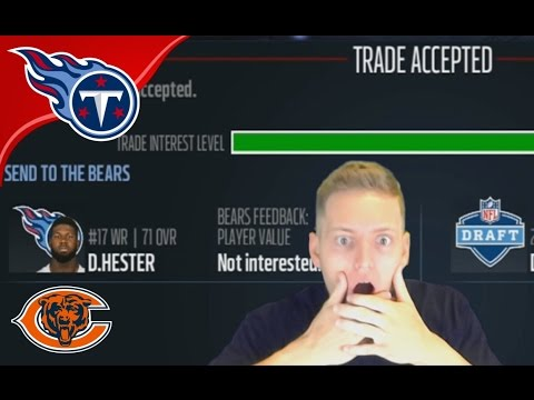 DEVIN HESTER TO RETIRE AS A CHICAGO BEAR!?  - Madden 17 Titans Connected Franchise #10