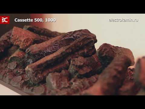 Cassette 1000 Электрический Очаг Dimplex Opti-myst. Видео 1