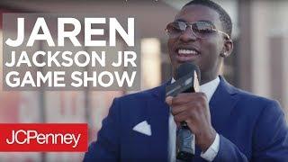 Jaren Jackson Jr. Hosts Game & Talks Men's Fashion | JCPenney x Bleacher Report