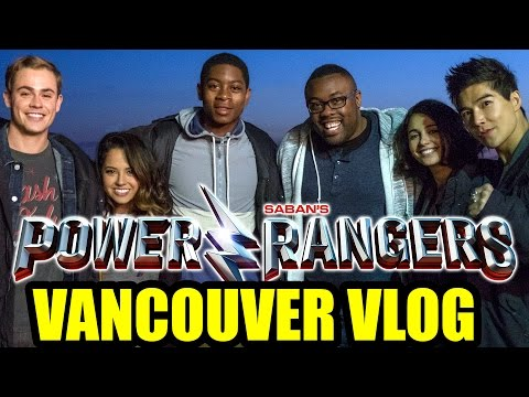 My POWER RANGERS Movie Set Visit and VANCOUVER VLOG