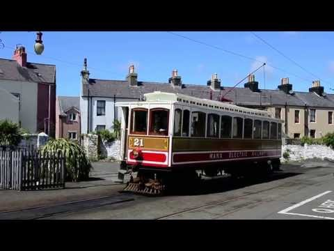 Electric Tram on the Isle of Man