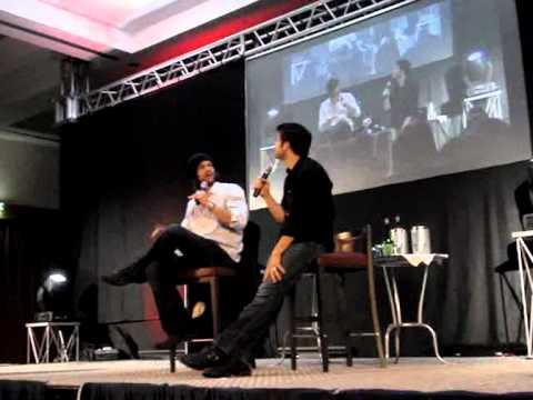 JIB3 - Jared Padalecki & Misha Collins - Sunday Panel