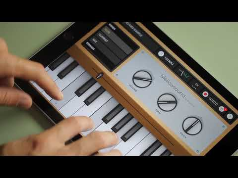 Mellowsound - The Mellotron for iPad and iPhone - by Fingerlab