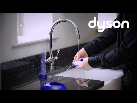 Dyson Small Ball upright vacuum - Washing the filters (UK)