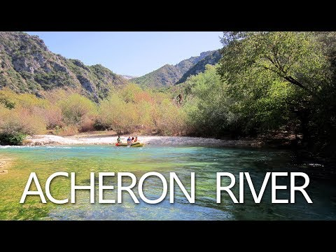 Acheron River, Greece - Αχέροντας ποταμός