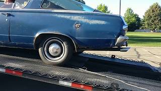 Saying goodbye to my 1966 Plymouth Barracuda - 5/28/2017