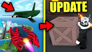 [FULL GUIDE] Mad City CARGO PLANE ROBBERY & NIGHTHAWK! | PLANES UPDATE | Roblox Mad City New Update