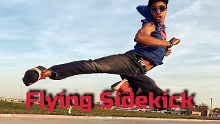 Flying Side Kick | Martial Arts How To