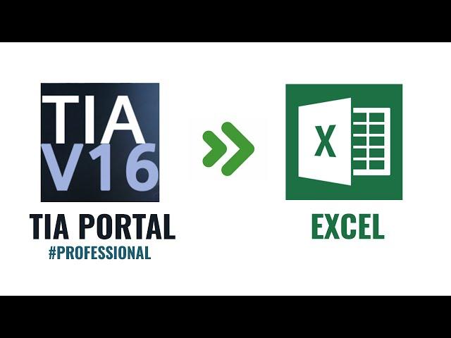 Hướng dẫn xuất báo cáo sản xuất excel trên Tia portal professional