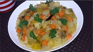 restaurant style mixed vegetable recipe