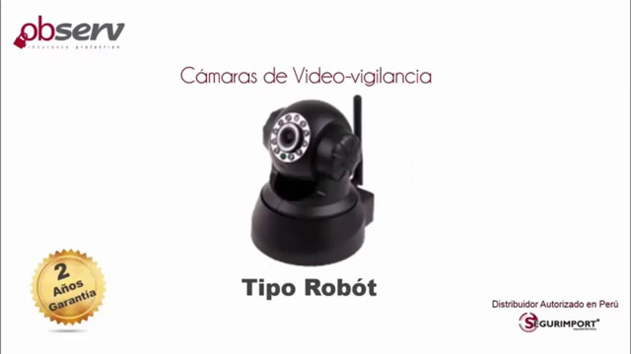 Presentaci n camaras de video vigilancia observ youtube - Video camaras vigilancia ...