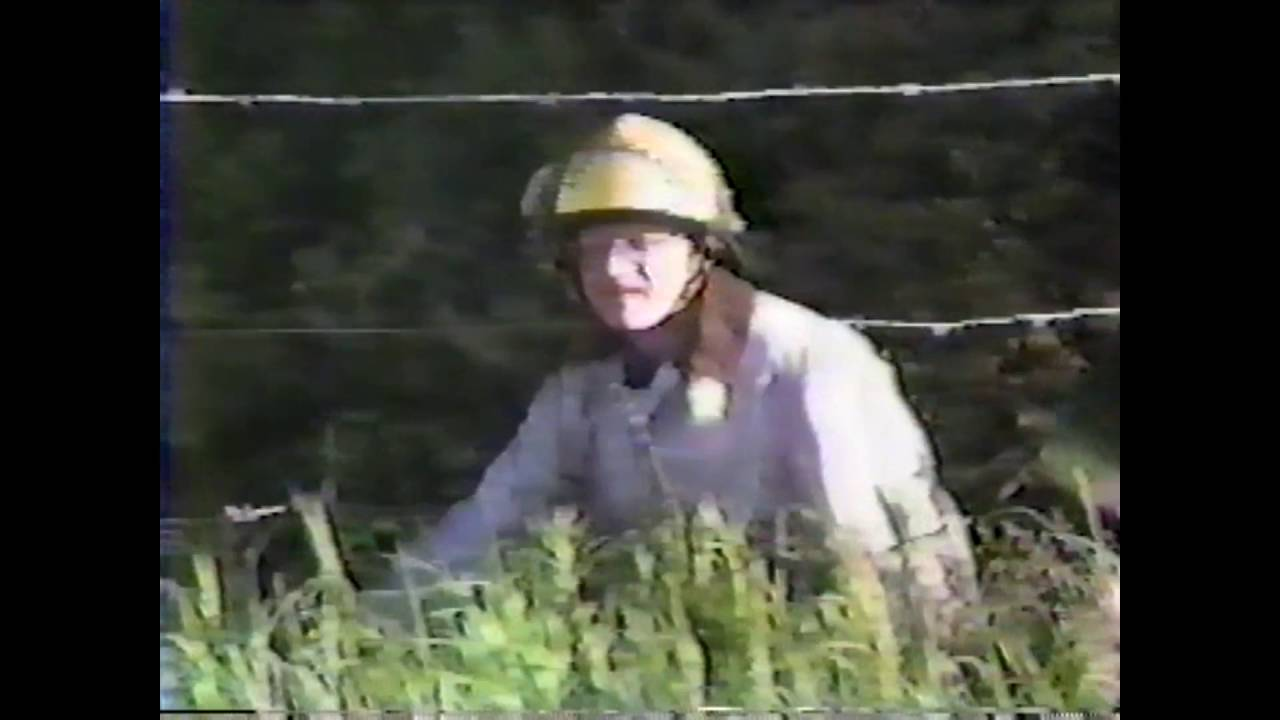 Simulated NCCS School Bus Accident  6-10-85