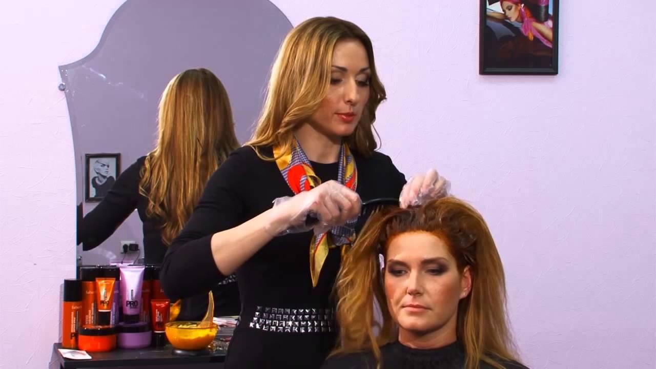Окрашивание волос в домашних условиях. Мастер-класс