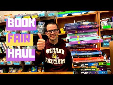 Scholastic Book Fair Book Haul