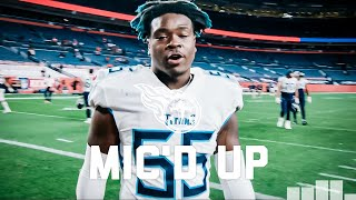 Jayon Brown Mic'd Uṗ vs. Broncos on MNF   Tennessee Titans