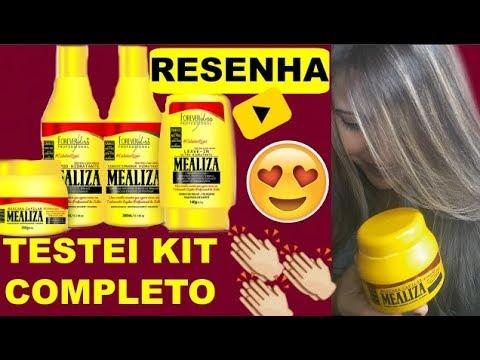 1d30381e8 MEALIZA Forever liss |TESTEI KIT COMPLETO - YouTube