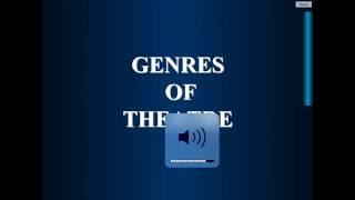 Genres of Theatre
