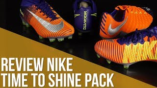 Review Nike Time to Shine Pack / Las botas de la final de la Champions League