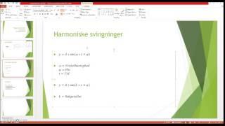 Trigonometriske ligninger og svingninger