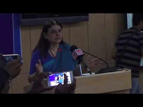 Inauguration | Maneka Gandhi | Center for Animal Rights | NALSAR