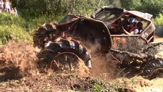 OFF-ROAD TRUCK MUD RACE 4x4 CAN AM TROPHY LATVIA