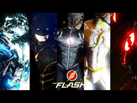 Savitar VS All Speedsters ! 1 VS 4 ! (Ultimate Flash)