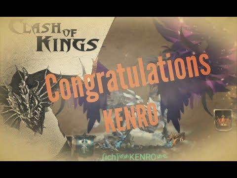 [clashofkings]Congratulations KENRO and TAKA