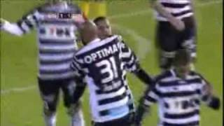 Gol de Roberto Rosales (Sint-Truiden 1-2 KAA Gent)