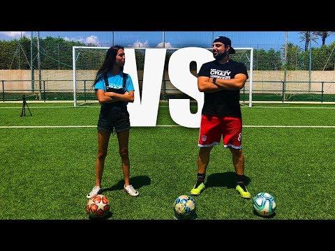 ME JUEGO TATUAJE VS CHICA GAMER | Retos De Fútbol