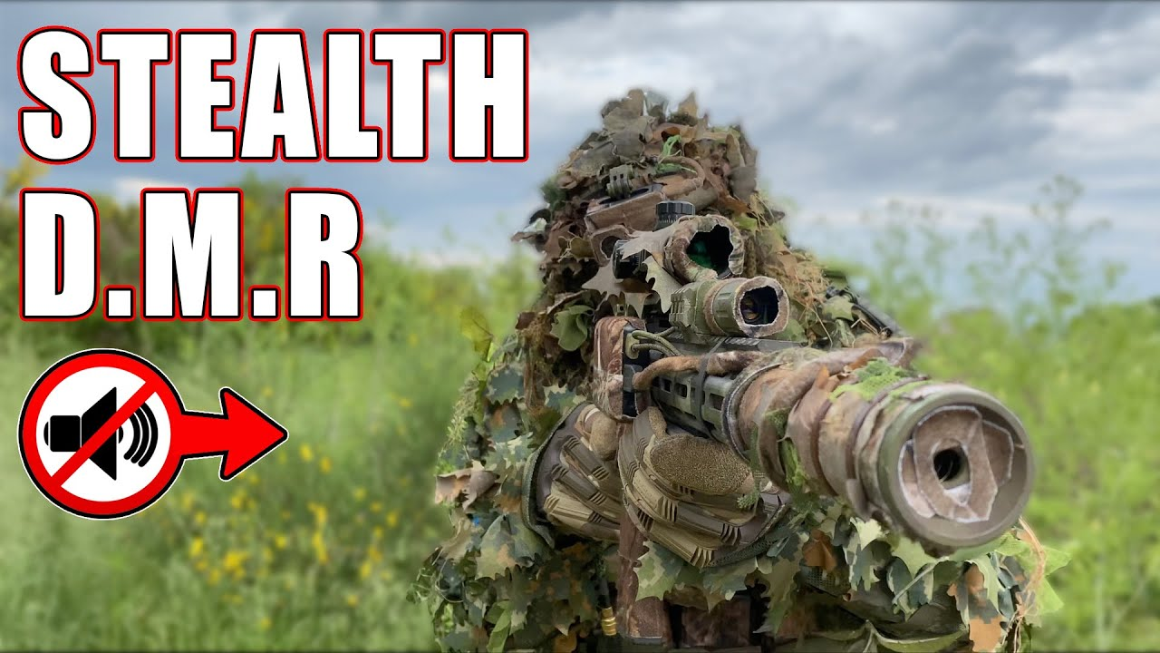 This Stealthiest DMR Is So GOOD ! (Most Deadly Airsoft Loadout?)