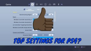 *THE BEST SENSITIVITY SETTINGS TO STEP UP YOUR BUILDING AND AIM* - Fortnite Battle Royale